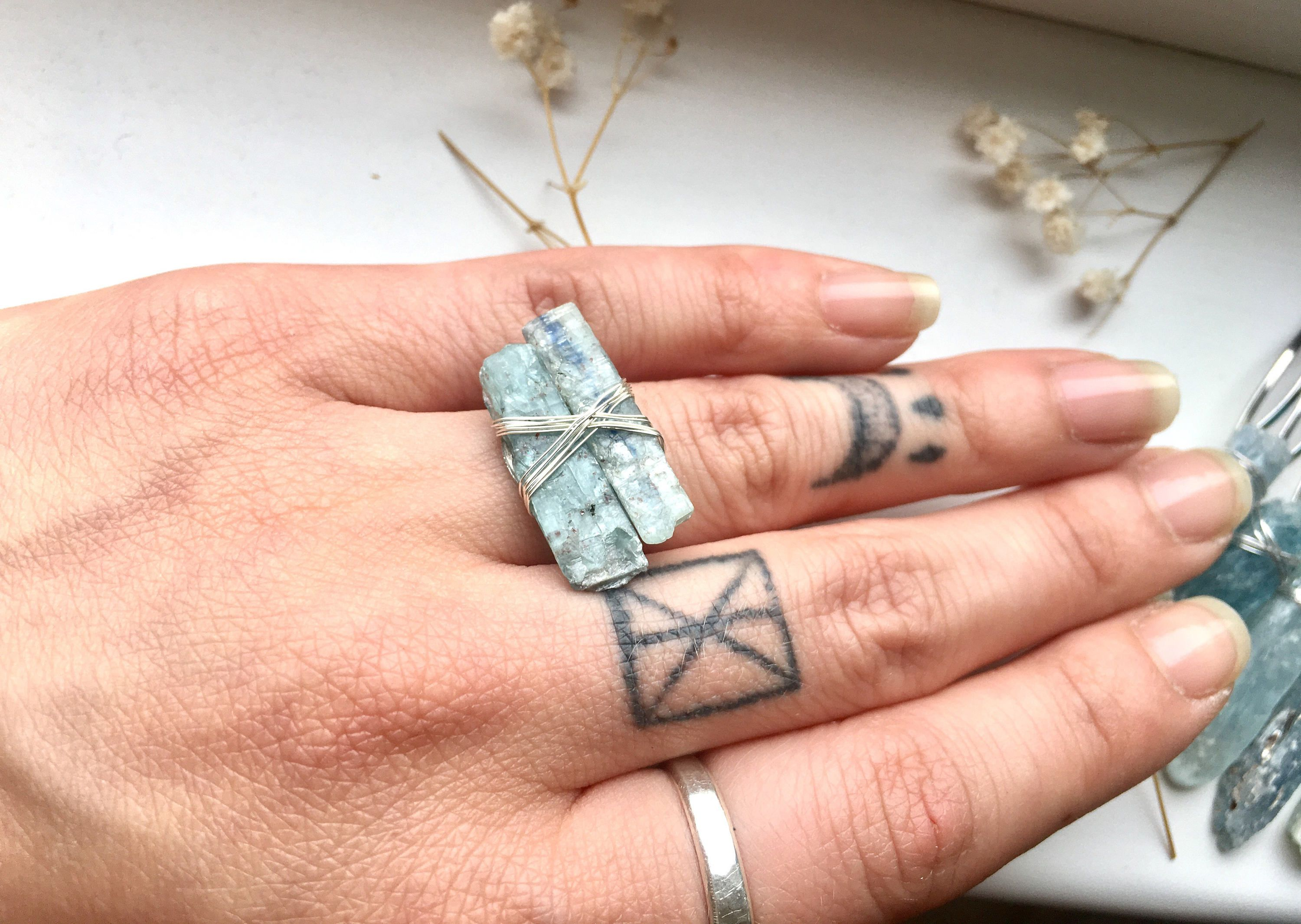 zada rings image ring blue kyanite products