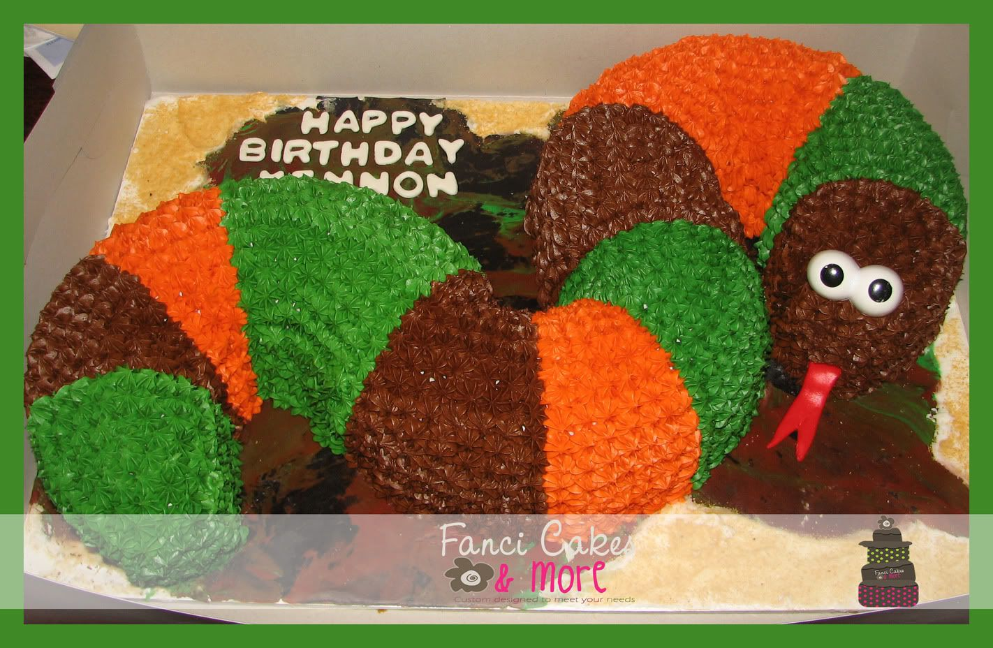 Snake Birthday Cake Reptile Birthday Ideas Pinterest Snake