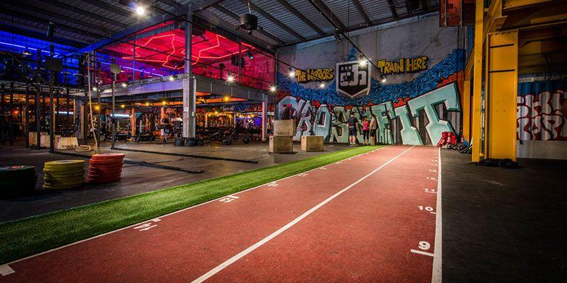 The Warehouse Fitness Center LLC Dubai, UAE Warehouse
