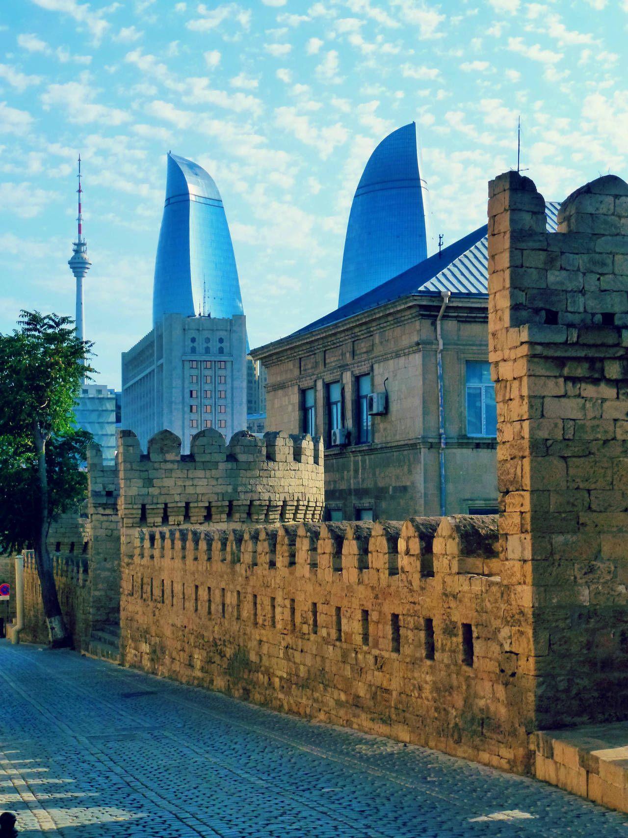 Azerbaijan Baku Between Old And Modern Azerbaijan Travel Baku City Baku Azerbaijan