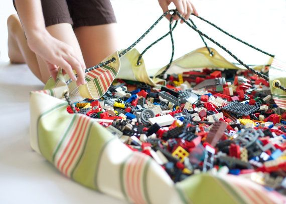 Lego® storage...BricBag on Etsy