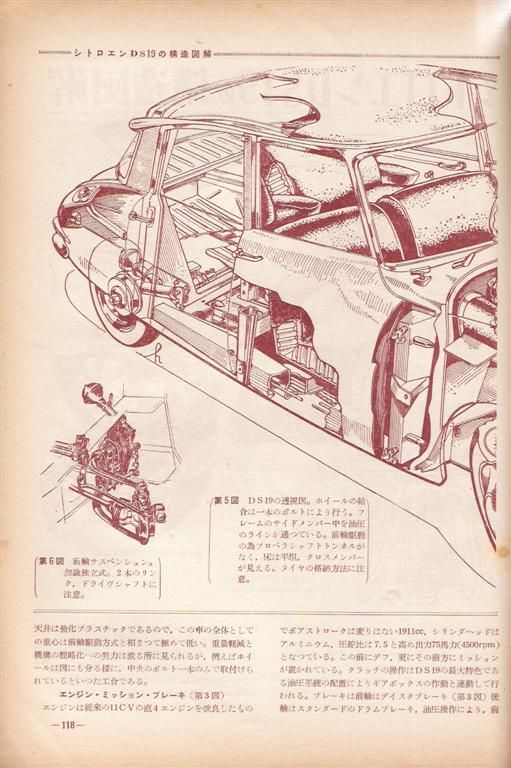 Citroen Ds In Japan Citroen Ds
