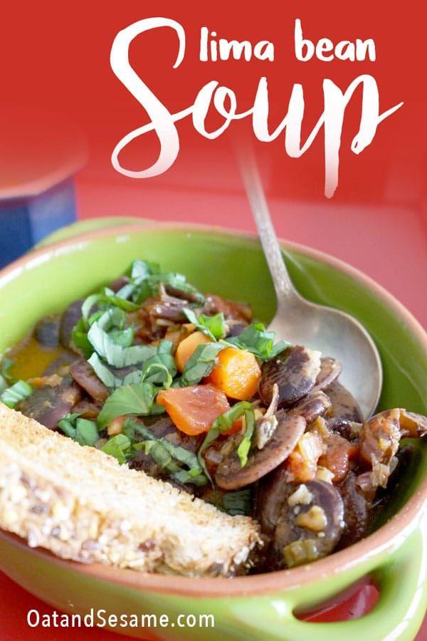 Christmas Lima Bean Soup