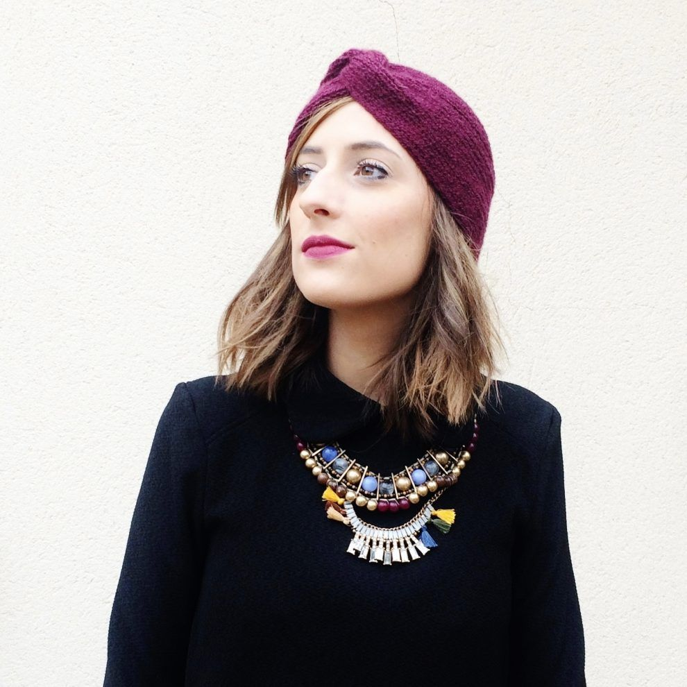 huguette paillettes tricot bonnet turban 4 blog mes tutos pinterest turban tuto et tricot. Black Bedroom Furniture Sets. Home Design Ideas