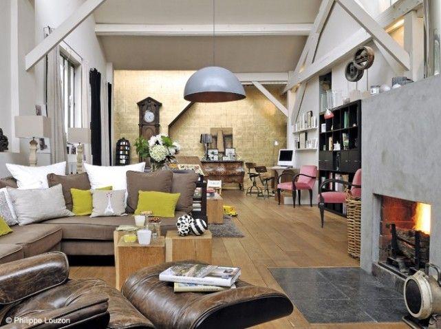 Nos 50 plus belles cheminées   Interiors   Déco maison ...