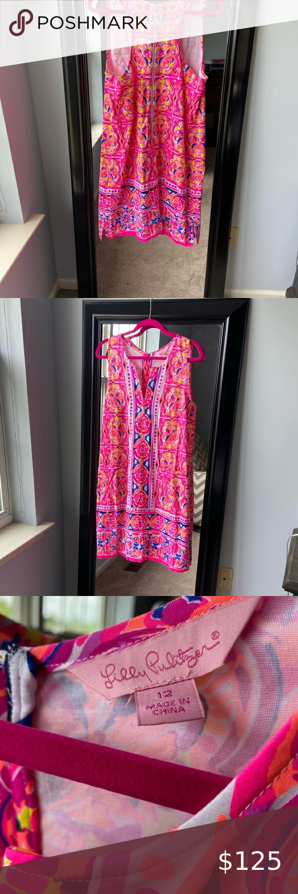 Lily Pulitzer Summer Dress Size 12 Summer Dresses Dresses Lily Pulitzer [ 1740 x 580 Pixel ]