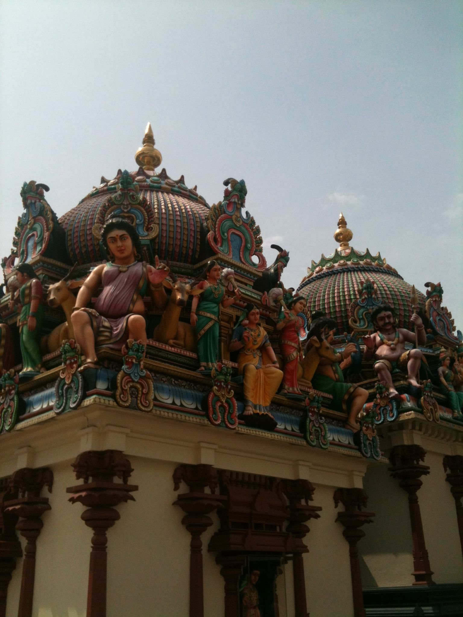 Hindu temple, Singapore Hindu temple, Temple, Big ben