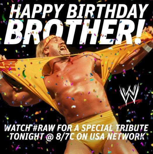 HAPPY BIRTHDAY BROTHER WWE Pinterest – Hulk Hogan Birthday Card
