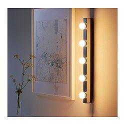 Aplică Impămantare Musik Cromat Home Ikea Wall Lamp Bedroom Lamps Ikea Wall