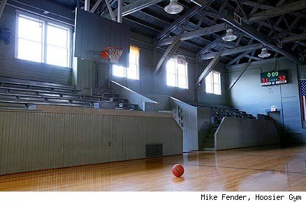 Famous Movie Locations The Gym From Hoosiers