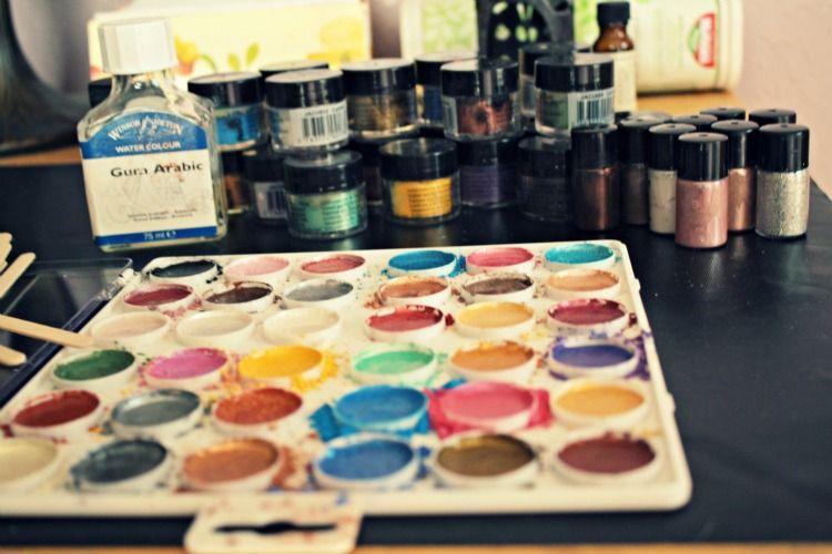 The Craft Room Diaries Watercolor Art Diy Watercolor Art