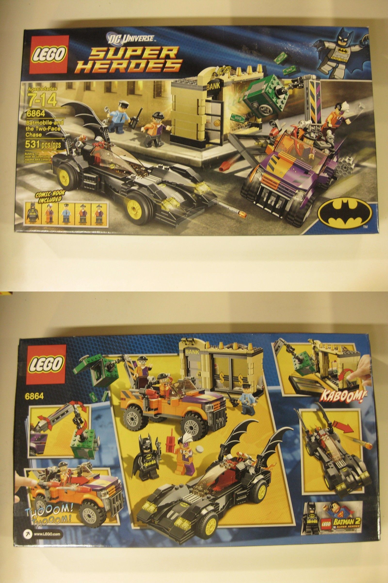 mixed lots 183451 lego dc universe super heroes the batmobile and