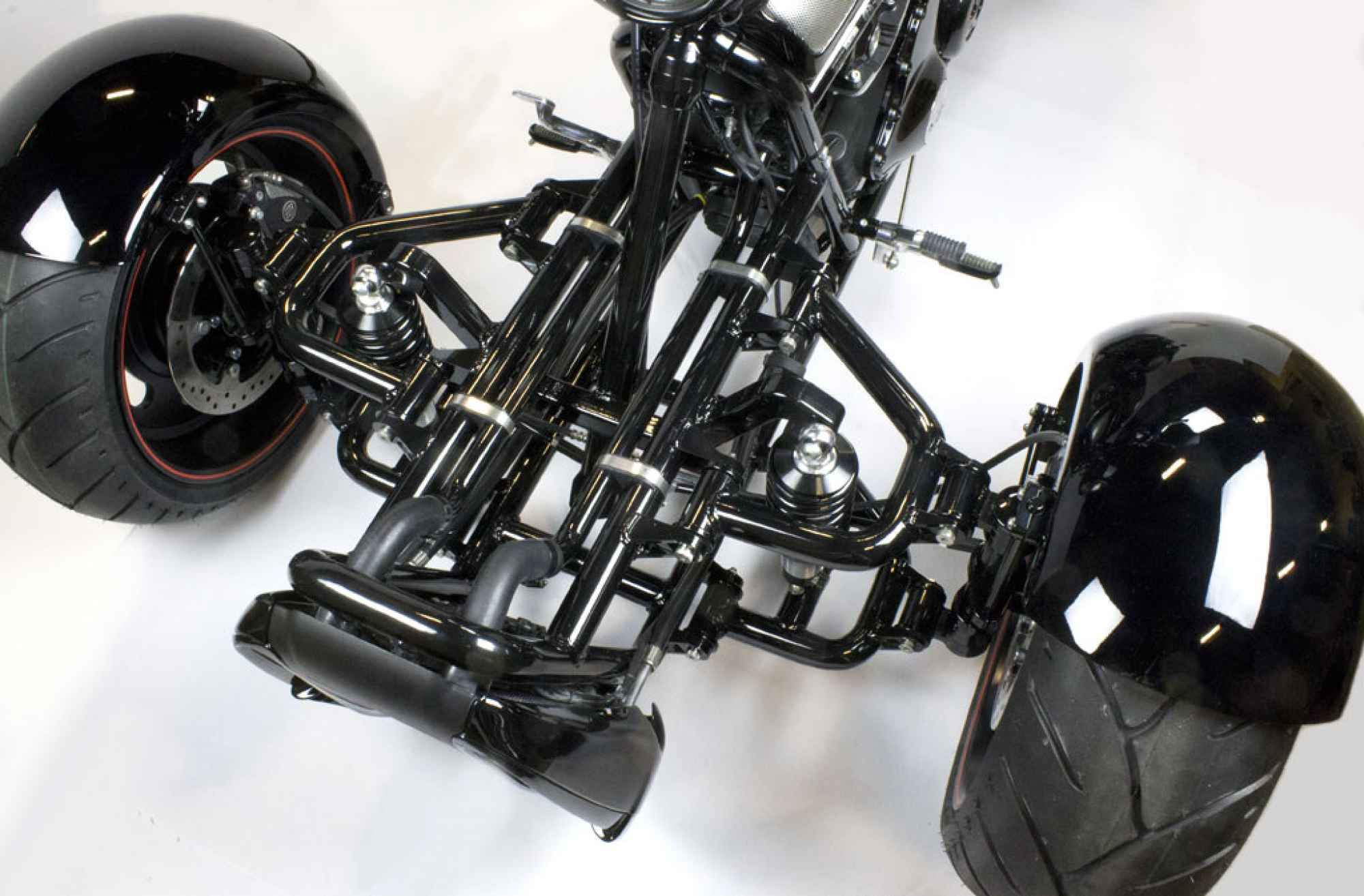 Custom Harley Davidson V Rod Scorpion Reverse Trike Wild File