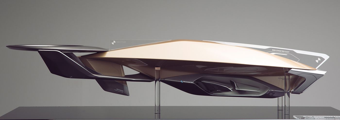 BMW Connected Flight Masterthesis 2016 on Behance