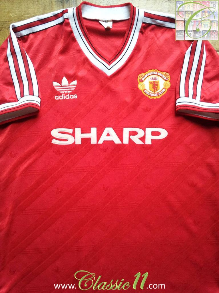 412ee5cb6 1986 87 Man Utd Home Shirt (M)  1986  1987  home  man-utd  mancjester   medium