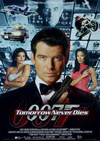 James Bond Tomorrow Never Dies One Sheet Movie Poster Print