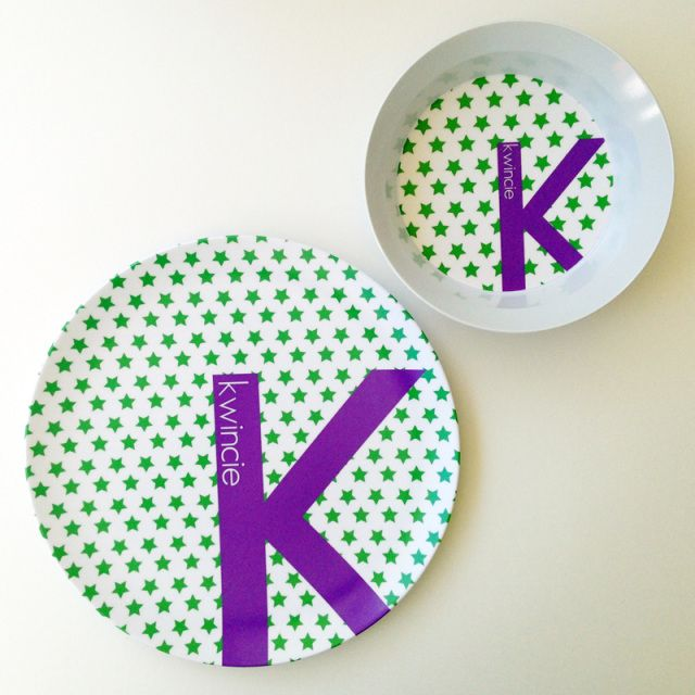 Personalized kids dinner plates with with food cutters to make healthy eating fun.  sc 1 st  Pinterest & NEW Star Mix+Match Set - Personalized for little ones! | Dylbug ...