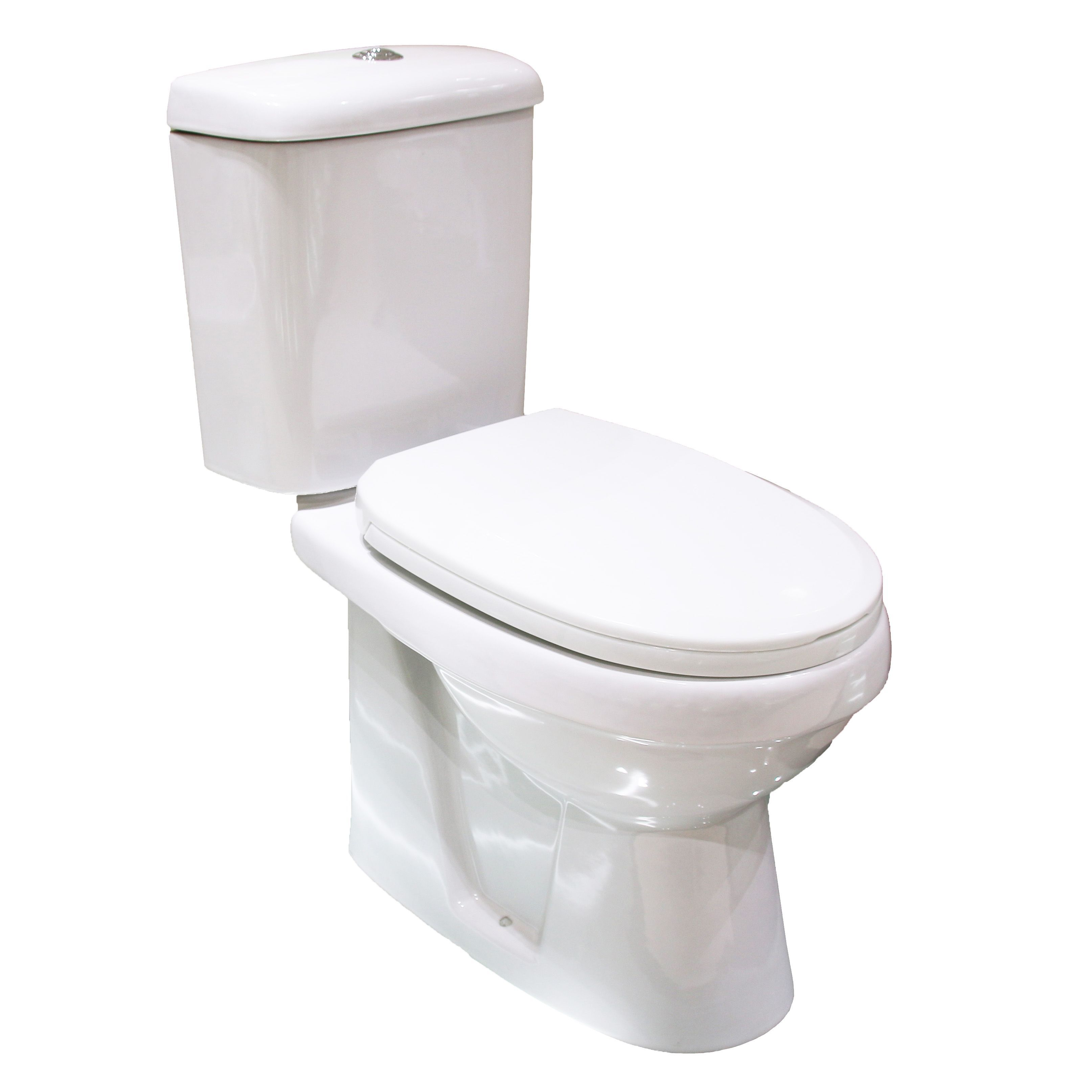 Plumbsure Falmouth Contemporary Close Coupled Toilet With Soft Close