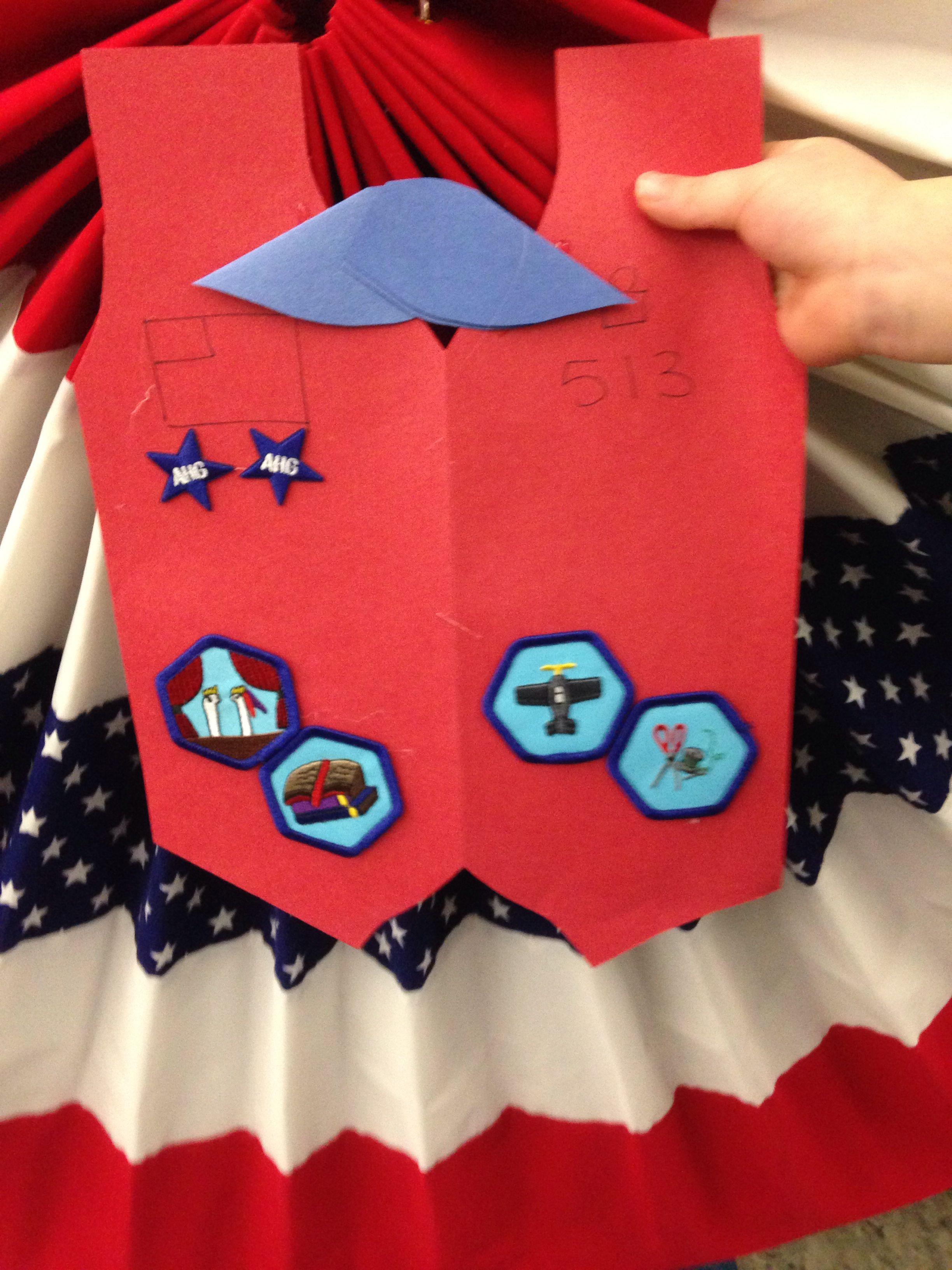 American Heritage Girls Court Of Awards Badges