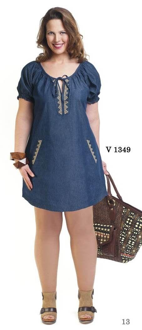 dc8c2093ce Resultado de imagen para vestidos de jean para mujer Vestidos Frescos