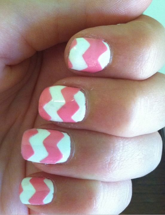 Pink and White <3