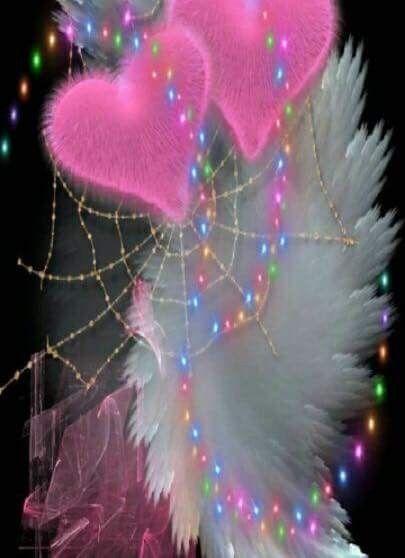 Best Pin By Nina On Hearts Heart Wallpaper Pink Polka Dots 400 x 300