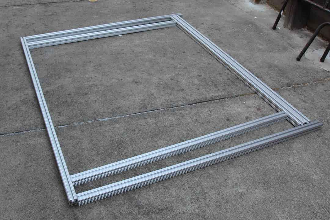 Van Photos Defying Normal Extruded Aluminum Photo Bed Frame