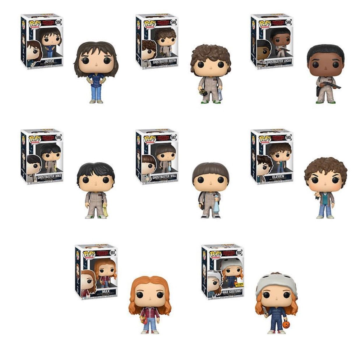 - New 3.5 inch Funko Mystery Mini Figure Stranger Things S2 WILL THE WISE
