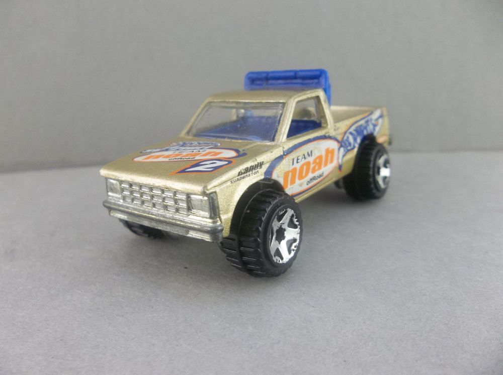 Hot Wheels 1982 Team Noah Offroad Gold Ford Ranger Diecast