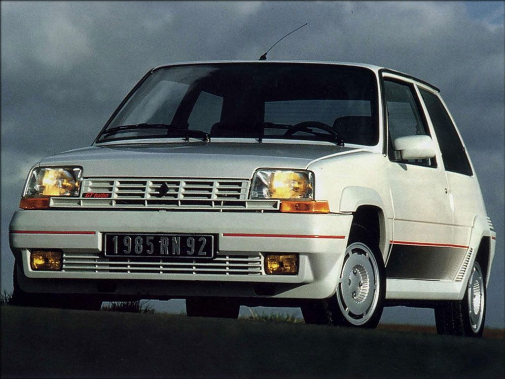 Bought my mad little renault 5 gt turbo from my older brother in crashed it twice much due to the insane turbo fun