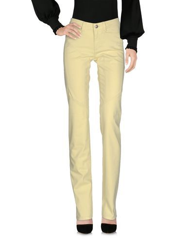 9.2 BY CARLO CHIONNA Women's Casual pants Yellow 24 jeans