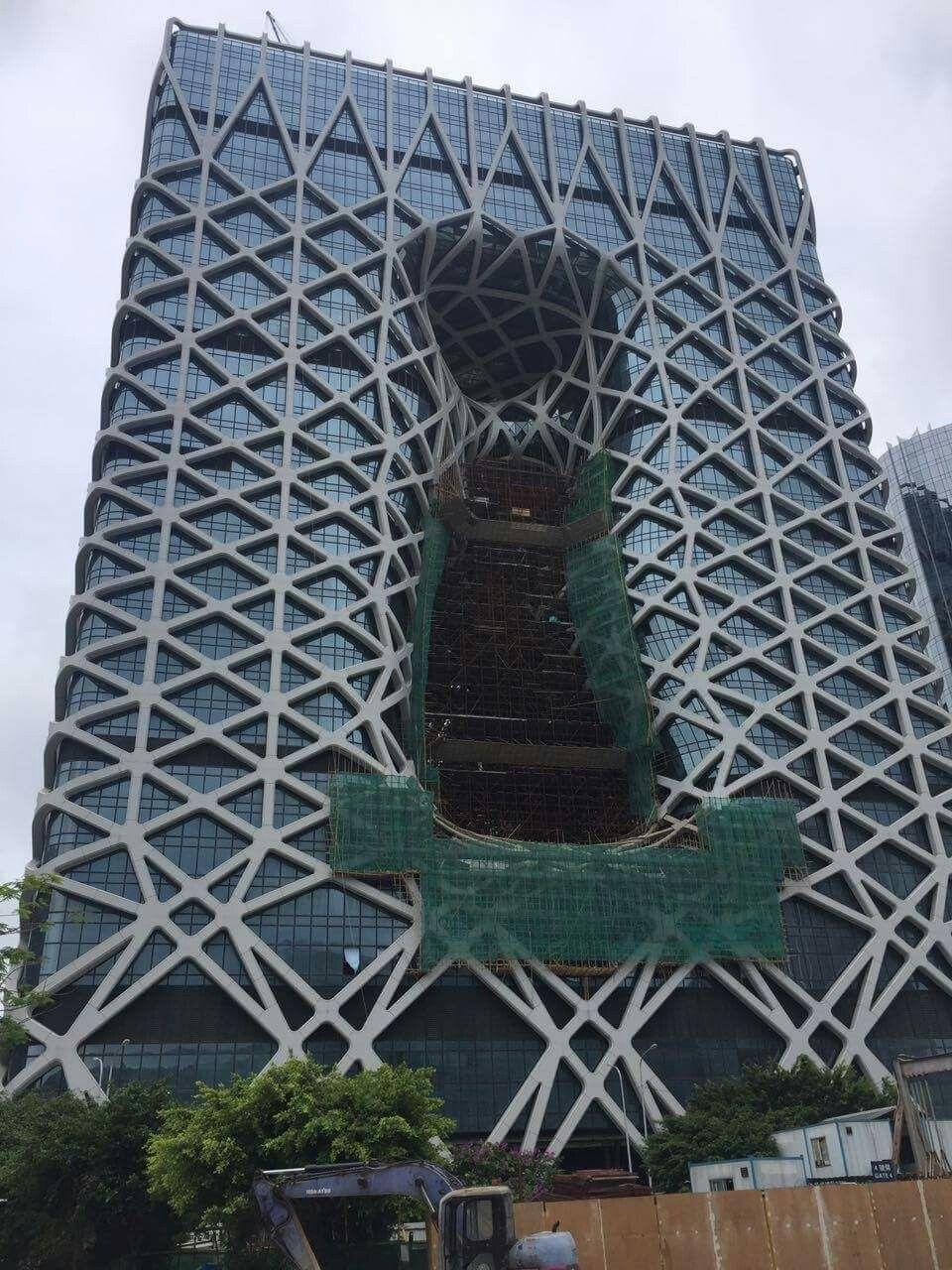 City of Dreams - Morpheus Hotel - Macau | Architecture | Pinterest ...