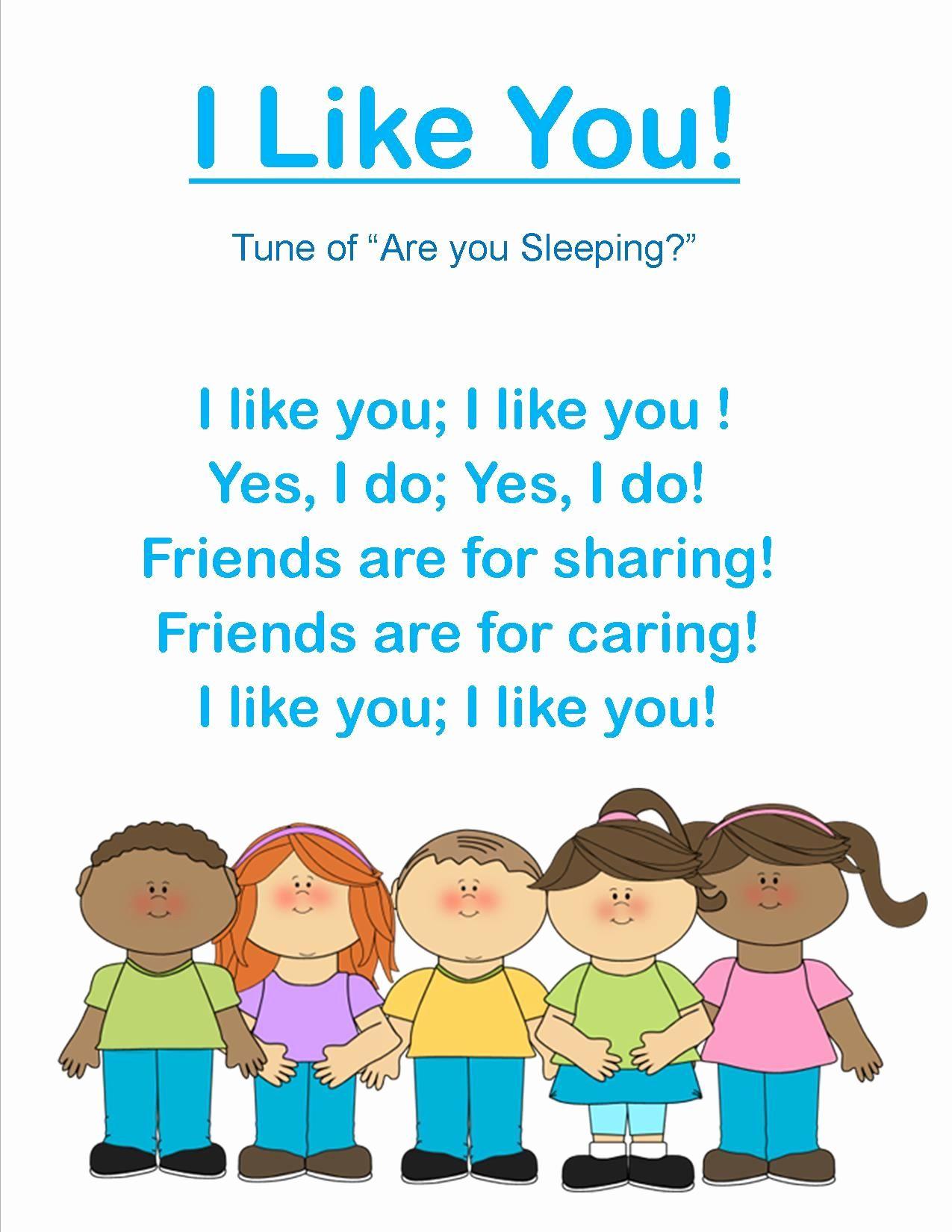 Friends Worksheets for Preschoolers