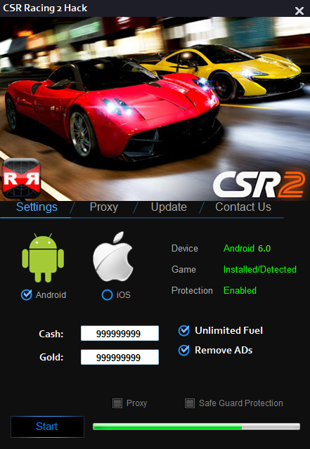 csr racing 1 hack ios