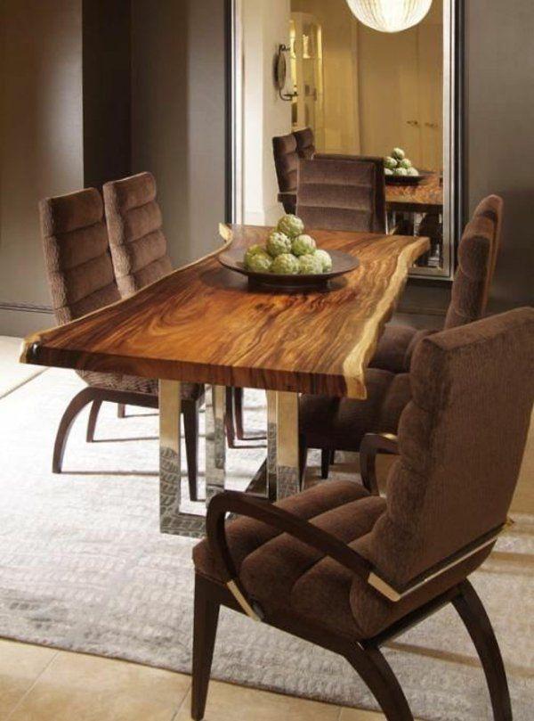 Massivholz Im Rustikalen Esszimmermöbel Aus Einrichtungsideen Stil qSVUMLpGz