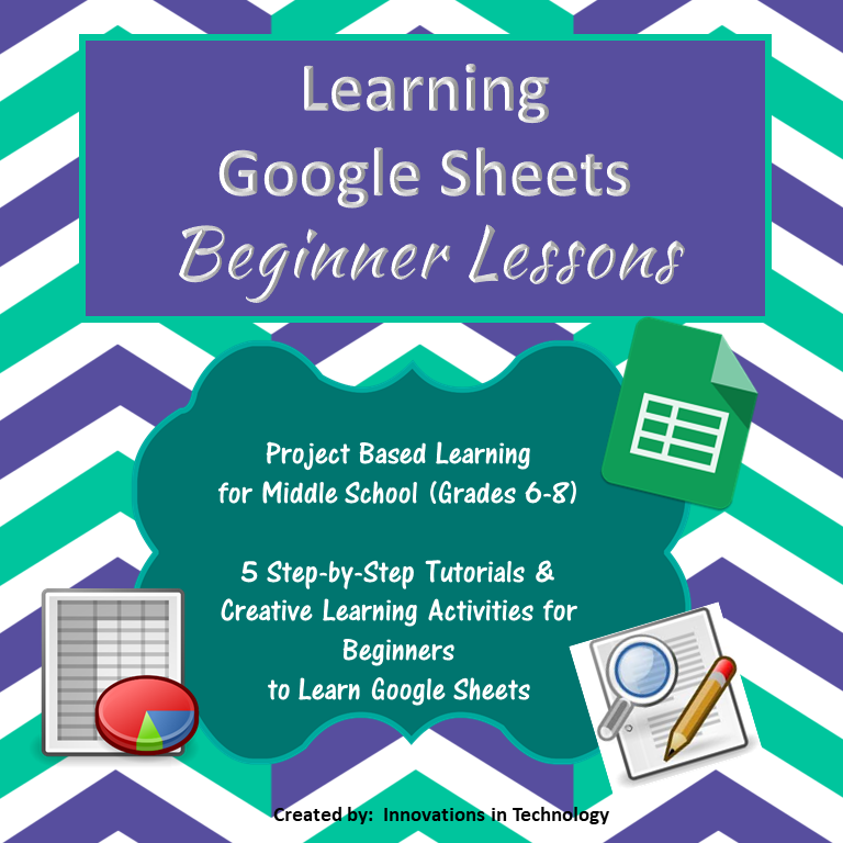 Learning Google Sheets Beginner Lessons Technology