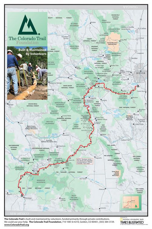 large poster map use and scheme y\'all | mountains & sea | Colorado ...