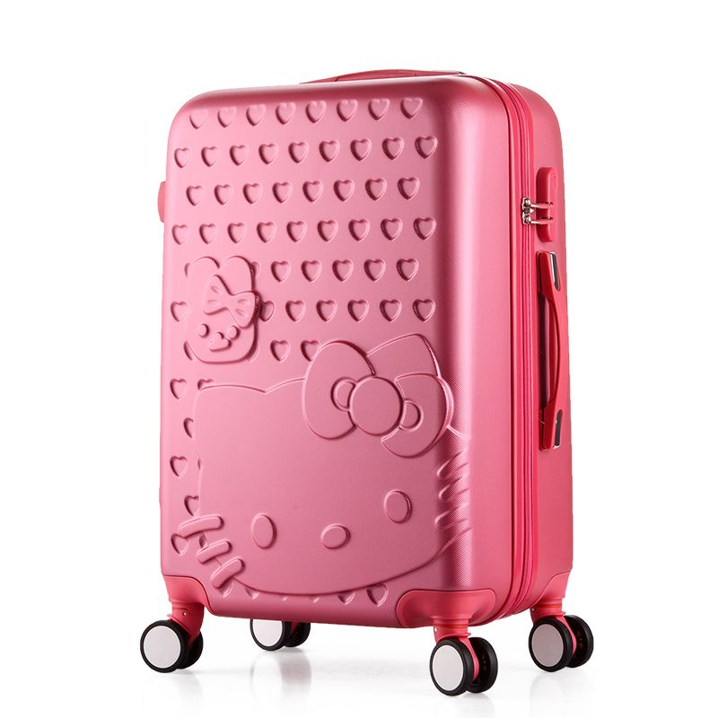 24 inch,Travel Suitcases,Spinner Rolling Luggage Set,Hello Kitty ...