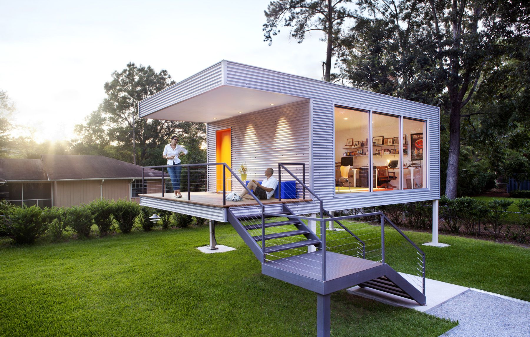 tiny backyard home office. This \ Tiny Backyard Home Office