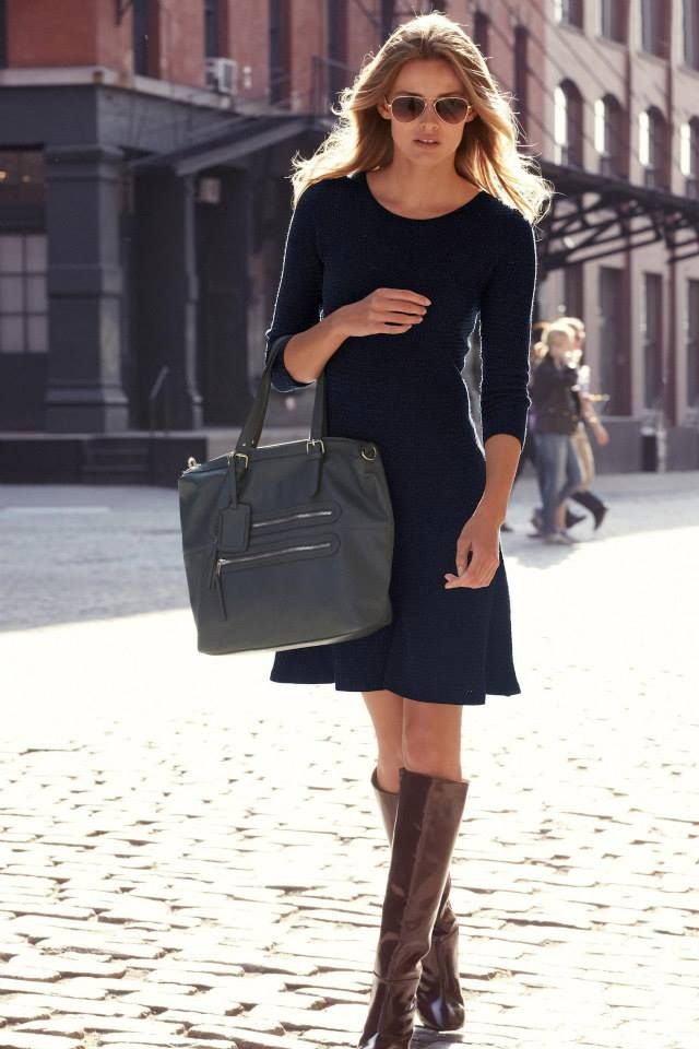 35 Best Women's Work Dresses | Classic work outfits, Tights and ...