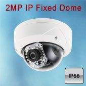 2 MP IP Dome Camera Varifocal,IP 66 24 IR LEDs up to 100ft.  Now only $229 through Dec 31st, 2014.