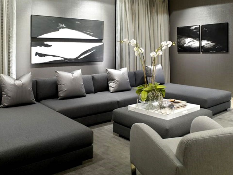 Luxury Sectional Sofa Furniture Design Donghia Showroom