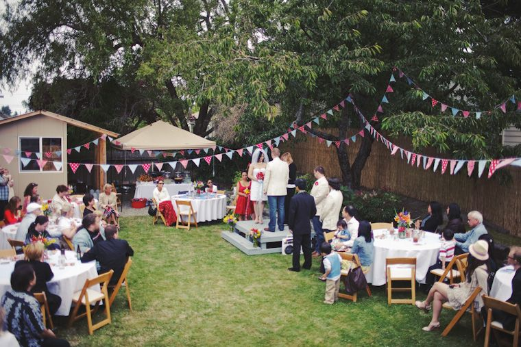 Backyard Bbq Wedding Wedding And Events Pinterest Wedding