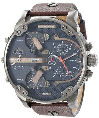 93512d2dd700 Diesel Men s DZ7314 Mr.Daddy Leather Watch
