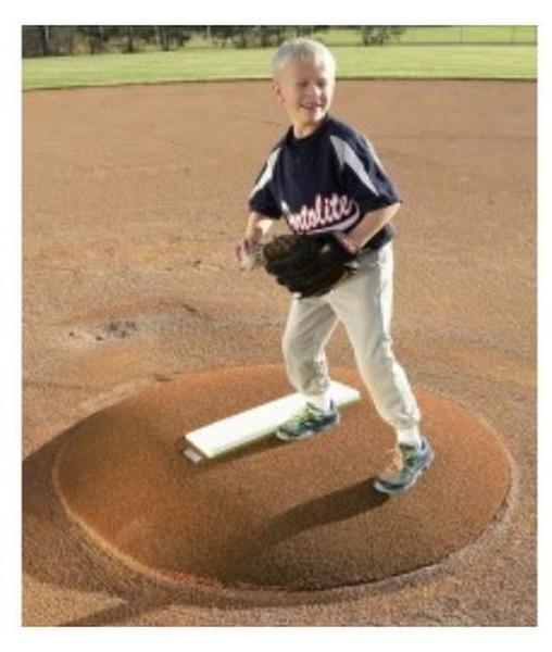 """Portolite 6"""" High Portable Baseball Pitching Game Mound 48"""