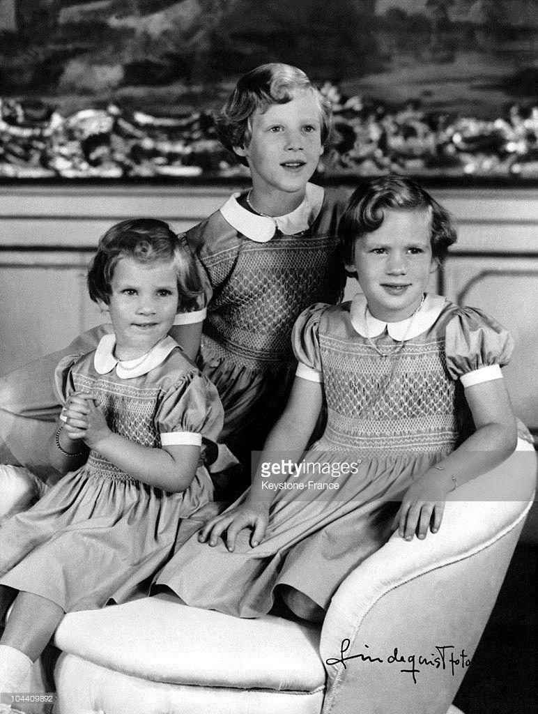 Princess Anne Marie Margrethe And Benedikte Of Denmark 1940 Danish Royal Family Princess Anne Danish Royalty
