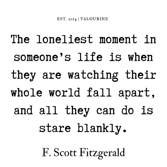 '3 | F. Scott Fitzgerald Quotes Series  | 190619' Poster by QuotesGalore