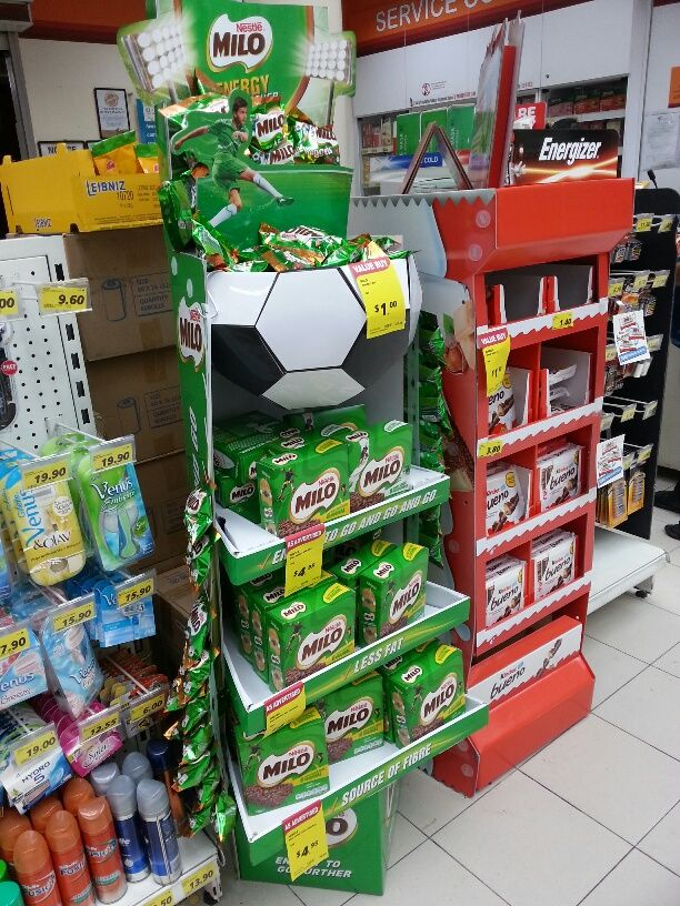 Nestle Milo Energy Snack Bars Product Standee