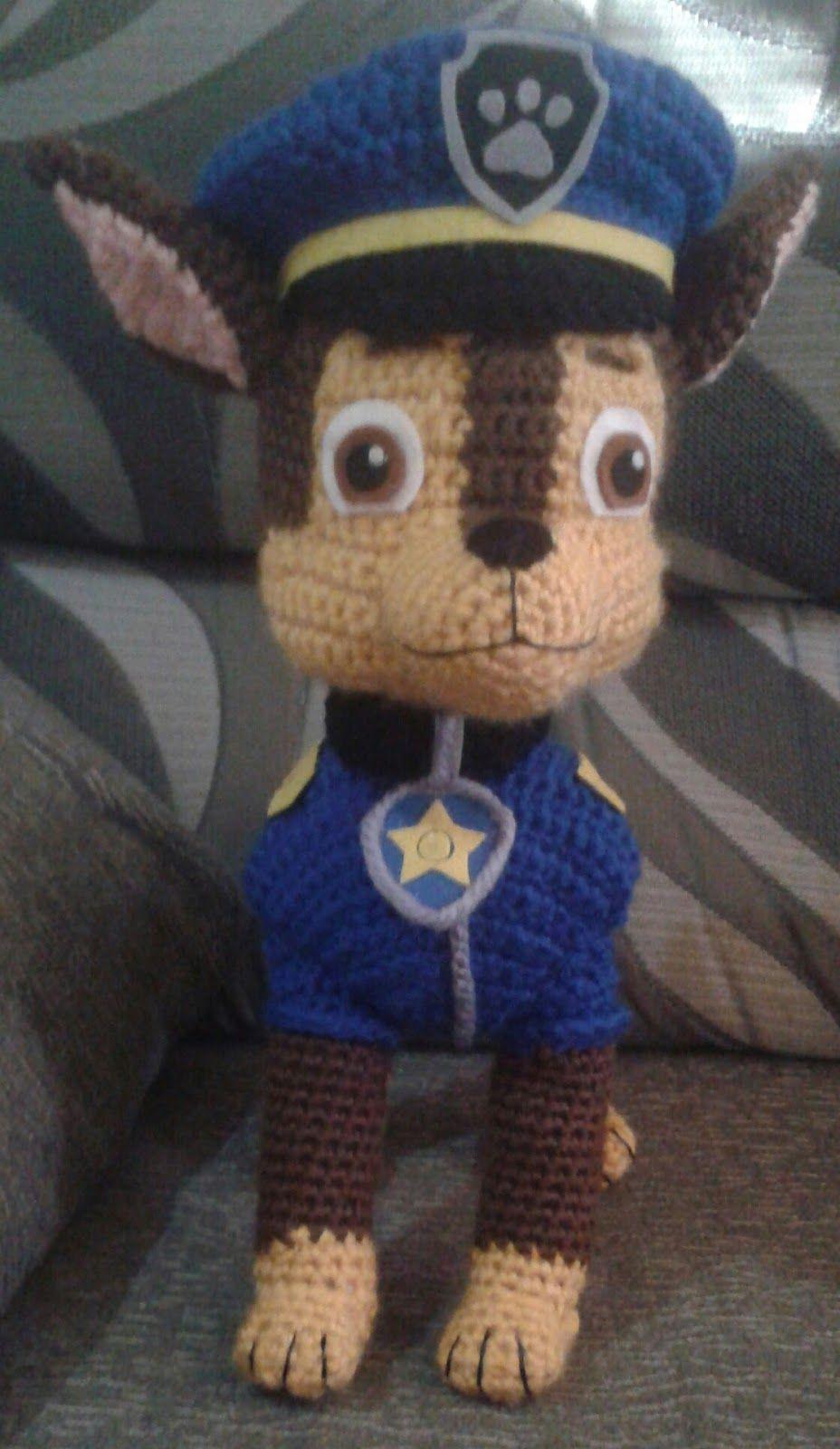 Chase paw patrol | crochet | Pinterest | Babys, Handarbeiten und Häkeln