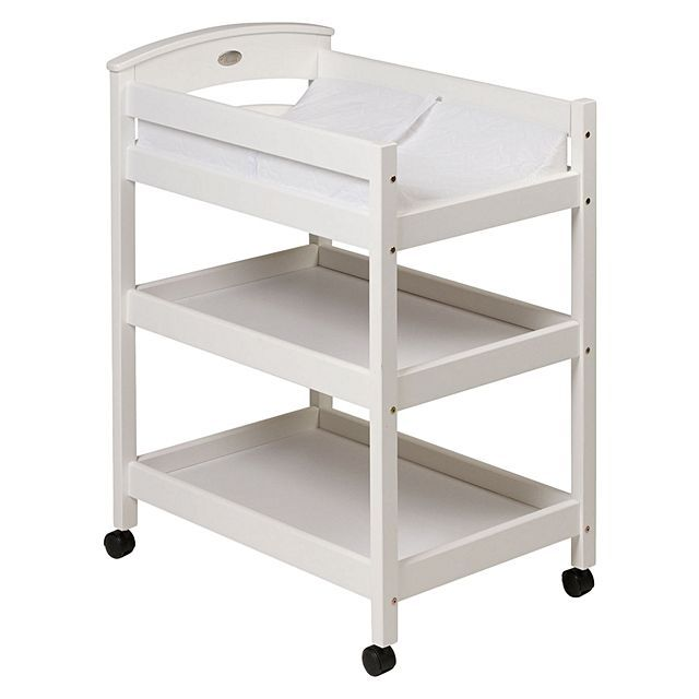 High Quality Change Table With High Sides And Lockable Wheels // Baby // Changing //